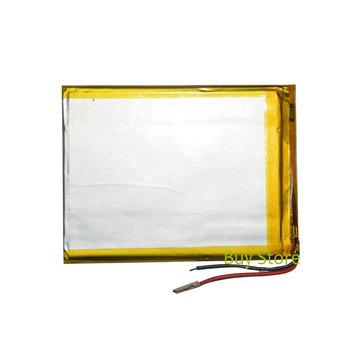 3500mAh 3 7V polimerowa akumulator litowo-jonowy część zastępcza do tableta bateria do 3G obsługi TELEFUNKEN 7 #8222 TABLET tanie i dobre opinie NoEnName_Null 357090 Battery Stock for 3G TELEFUNKEN 7 TABLET