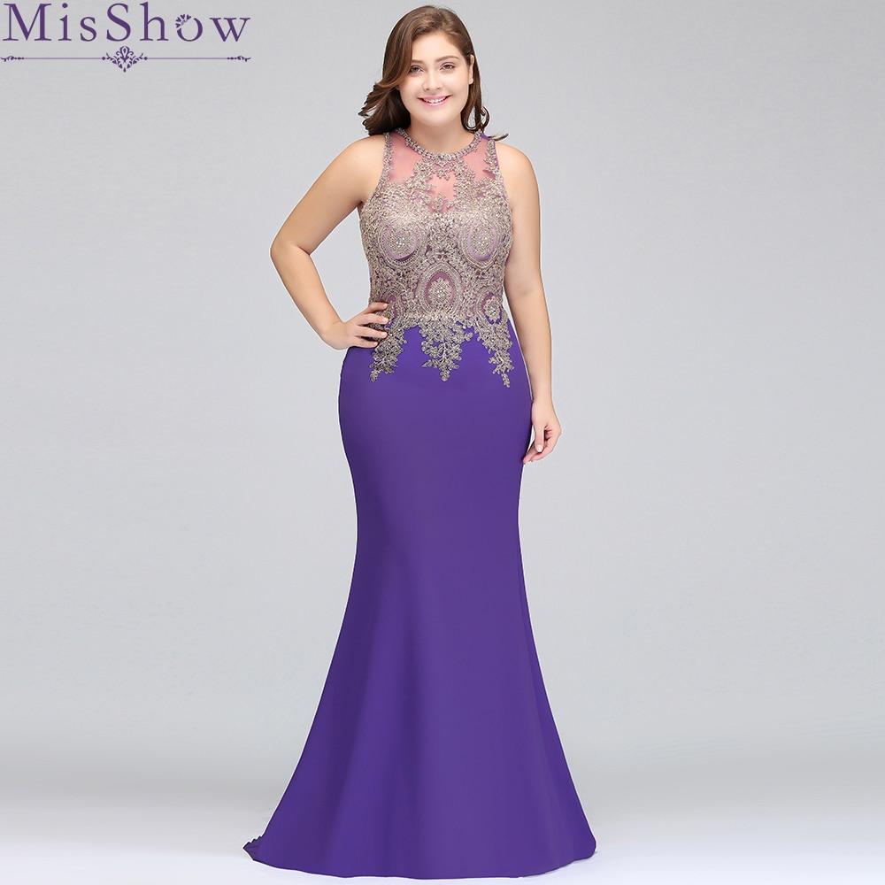 Cheap Long Satin Purple Burgundy Plus size Bridesmaid Dresses 2019 Mermaid Vestido De Festa De Casamen
