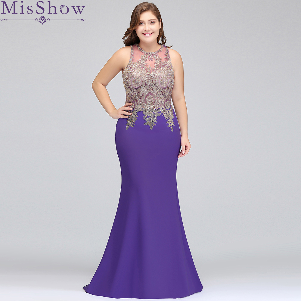 Cheap Long Satin Purple Burgundy Plus size   Bridesmaid     Dresses   2019 Mermaid Vestido De Festa De Casamen Formal Party Prom   Dresses