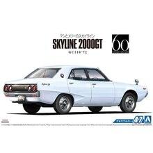 1/24 GC 110 SKYL INE 2000 GT ` 72 Car Model 05348