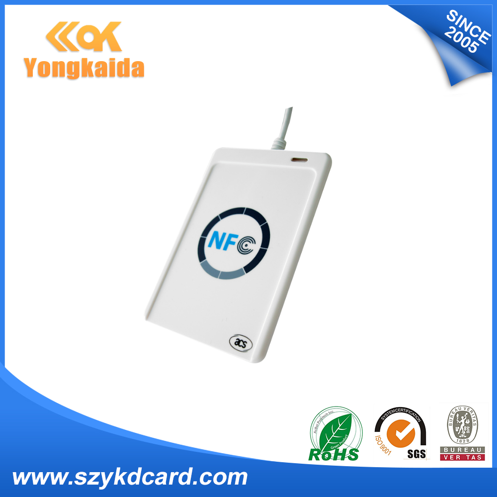YongKaiDa USB ACR122U - contactless smart ic Card reader and writer rfid copier rfid writer usb acr122u nfc rfid contactless smart ic card tag reader and writer 13 56mhz 10pcs nfc ic cards 1 sdk cd
