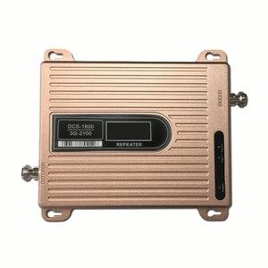 Image 3 - Affichage LCD 1800 2100 mhz double bande 3g amplificateur de Signal celulaire DCS WCDMA téléphone portable répéteur de Signal Mobile 4g amplificateur de Signal