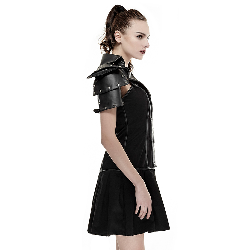 Steam Punk Schwarz frauen Uniform Kleid Cosplay Partei Sexy ...