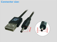 Delippo USB Câble pour Cube U25GT U9GT3 U18GT mini U18GT U16GT U17GT U9GT4 Tablet PC Câble D'alimentation Cordon