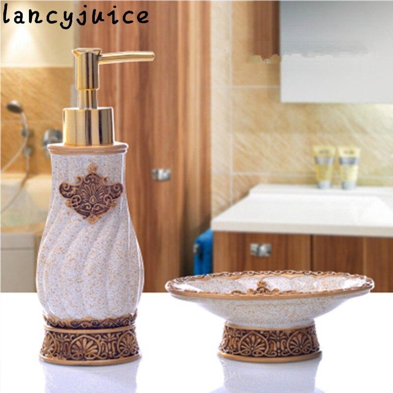 Vintage Bathroom Set European 2 piece Bathroom Accessories ...
