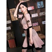 Latin Dance Skirt New Style Adult Female National Standard Performance Costume Training Dress Women DA982