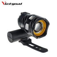 VICTGOAL Bike Light LED USB Rechargable Bicycle Flash Light Waterproof Cycling Headlight Mountain Road Bike Front