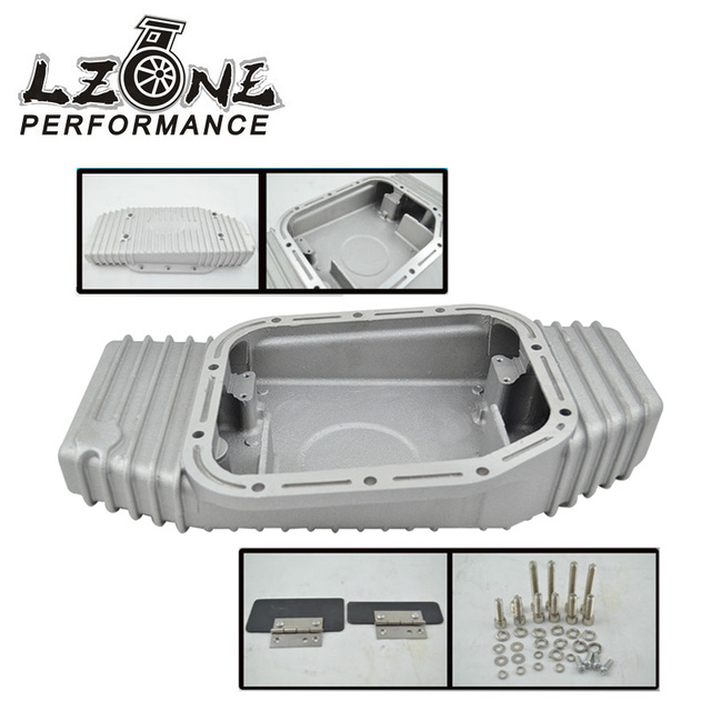 LZONE RACING-PARA SR20 S13 S14 S15 SR20DET 200SX 240SX SILVIA 180SX SIL 80 TURBO ALUMÍNIO OIL PAN (Fits: PARA Nissan) JR-OP49