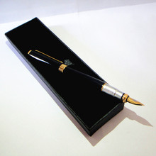Wholesale great quality Fountain Pen 50pcs a lot with logo made free best corporate gifts design and brand imprinted