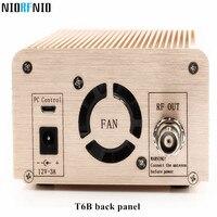 Бесплатная доставка nio t6b 1 Вт/6 Вт Лидер продаж fm Радио передатчик Комплект Адаптеры питания и аудио кабель и автомобилей Телевизионные анте