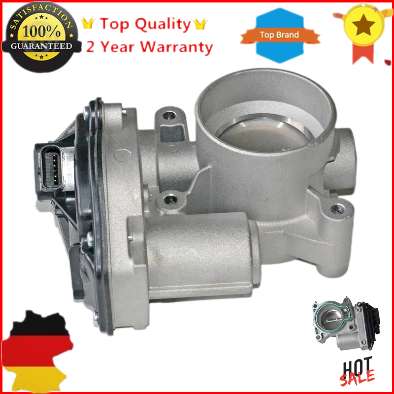 New Throttle Body FOR FORD FOCUS 2 MONDEO 4 IV BA7 FIESTA 1.8 2.0 LPG Electronic 4M5G9F991FA 1362955 YP4F9U9E926AC rambach ford mondeo iv 1 6 ecoboost 160 л с