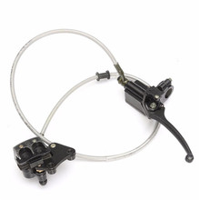 Front Hydraulic Brake Master Cylinder for Pit Dirt Bike Dirtbike 110cc 125cc 140cc CRF70 Caliper Upper and Lower Pump Assembly цены онлайн