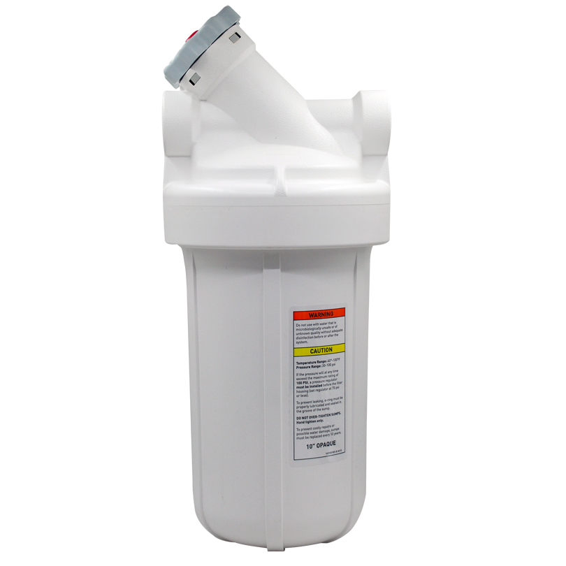Coronflow Big White Water Filter Housing with Bypass Heavy Duty Whole House Filter Housing дырокол deli heavy duty e0130