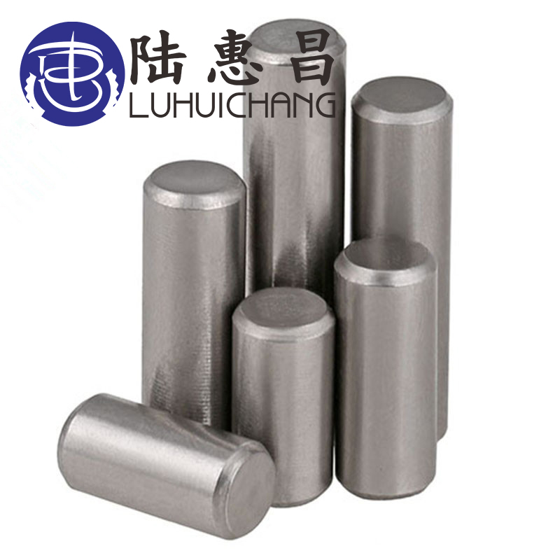 LUCHANG Free Shipping 304 Stainless Steel Round Cylinder Solid Straight Retaining Dowel Rod Fasten Locating Pins Retaining Pins