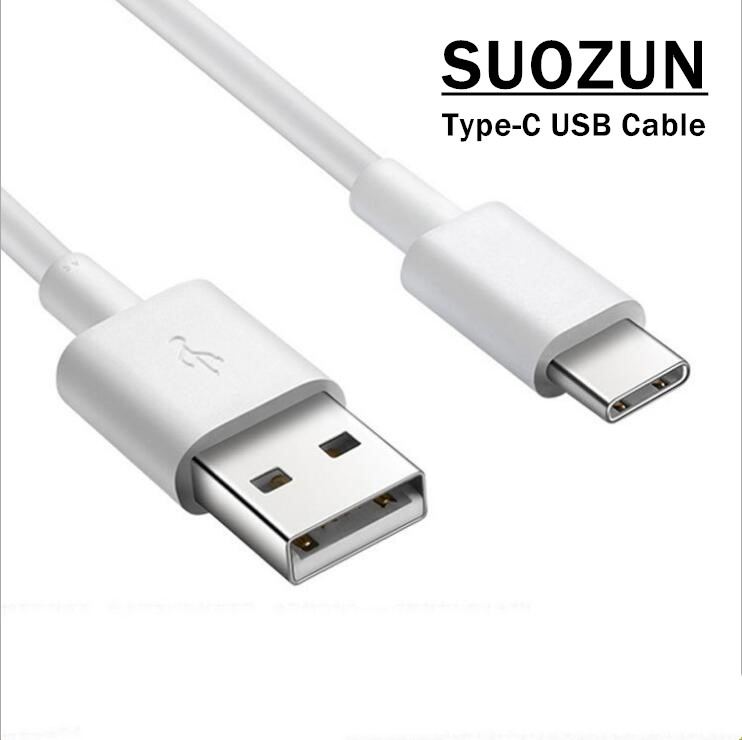 SUOZUN Type-C Cable for Samsung Xiaomi Oneplus,Type C USB Cables Original USAMS USB C Charger Data Line Sync type c Charging Cab