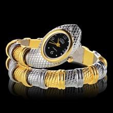 Hot Sale Unique Fashion Wrist Watches Women Ladies Snake Sha