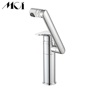 Bath Basin Faucet Rotate water Bathroom Kitchen Swivel Hot And Cold Sink Faucet Brass Vessel Sink Water Tap Mixer Mci