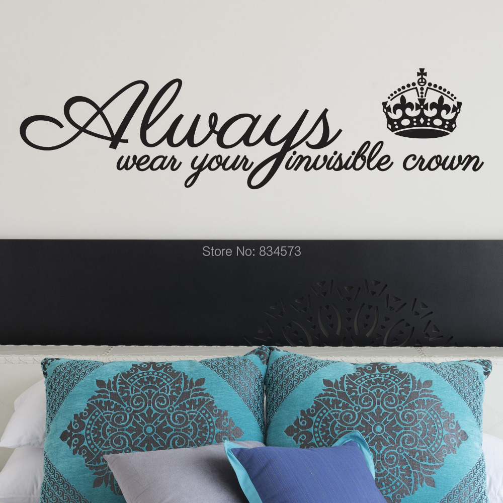 King And Queen Crown Wall Decor online get cheap wall art stickers king & queen -aliexpress