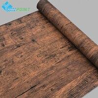 Старая мебель деревянные наклейки на стену с узорами ПВХ самоклеющиеся настенные наклейки мебель шкаф дверь, декоративные обои для стен