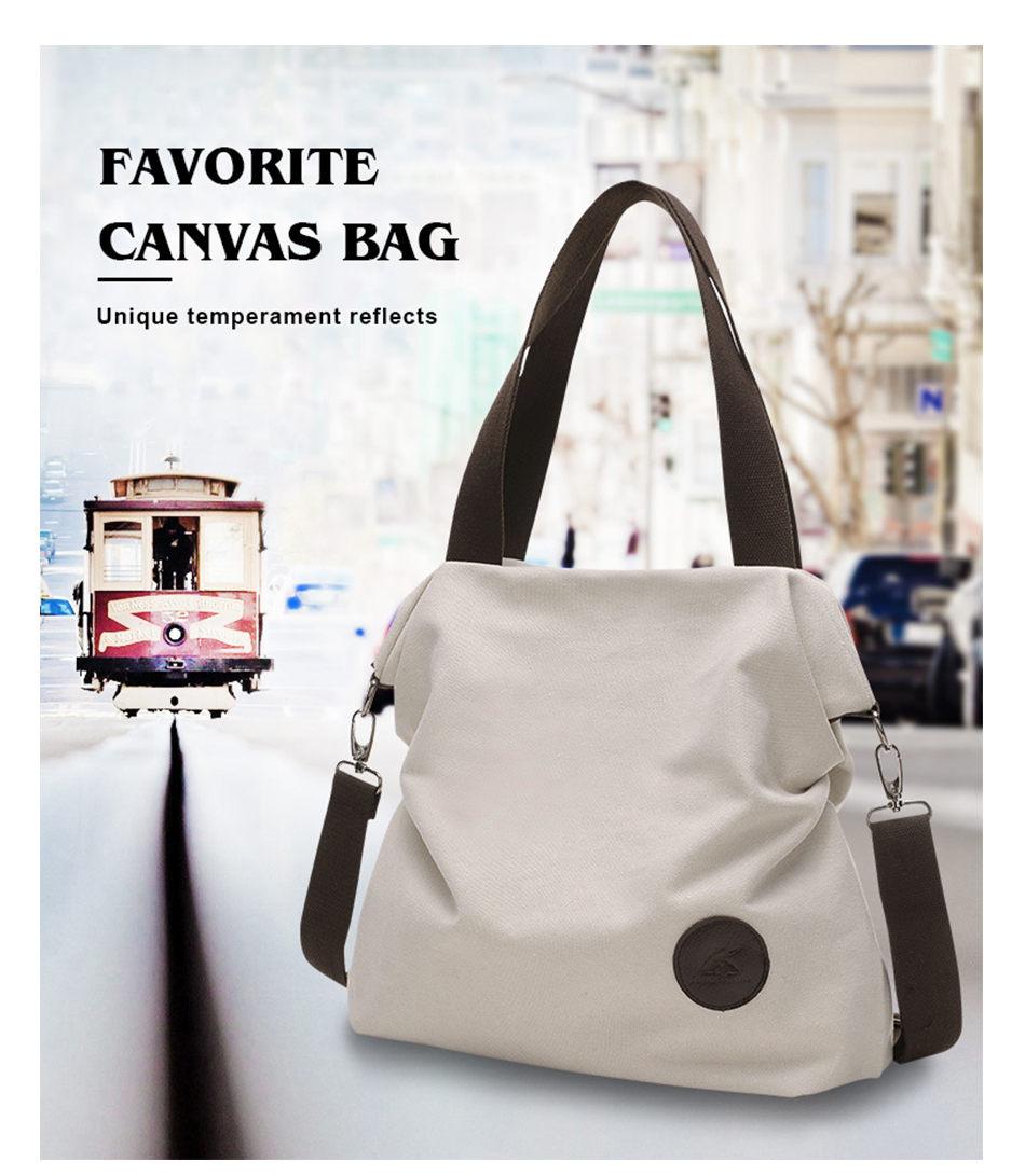 d5b2d75e8698 MENGXILU Fresh Shopping School Bags Womem Thick Cotton Canvas Fabric Big  Capacity Leisure Women Shoulder Bags Handbag Tote bag USD 17.82 piece