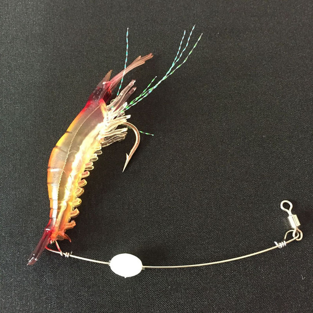 5pcs/lot Shrimp Soft Lure 4