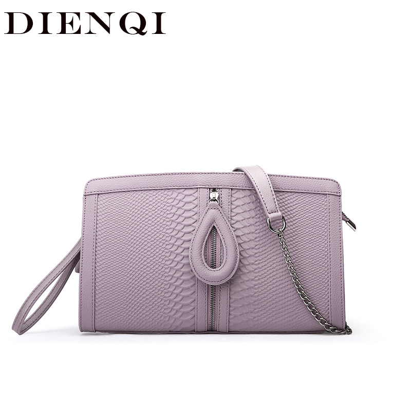 DIENQI Luxury Famous Brand Party Clutch Bags Genuine Leather Crossbody Bags for Women Messenger Bags Small Ladies Handbags 2018 hanup vintage small bags handbags women famous brand evening clutch ladies party purse crossbody shoulder messenger bags