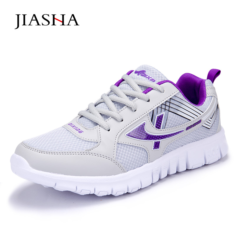 New arrival female casual shoe 2017 lightweight air mesh breathable non slip women shoe ladies climb