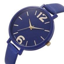 Perfect Gift women watch luxury brand Wrist watches Faux Lea