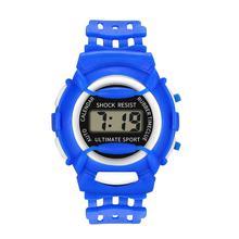 Sport Children Girls Boys Analog Digital LED Watches Electronic Waterproof Wrist Watch New Kid Clock Relogio Saat 2019 Gift