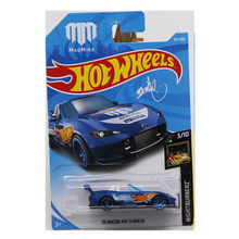 New Arrivals 2018 8g Hot Wheels 1:64 blue mazda mx-5 miata Car Models Collection Kids Toys Vehicle For Children hot cars