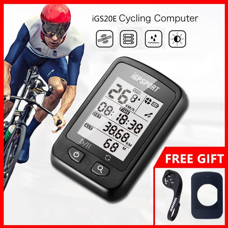 iGPSPORT iGS20E GPS Cycling Computer Smart Waterproof IPX6 MTB Road Bike Computer Sport Speedometer Mileometer for