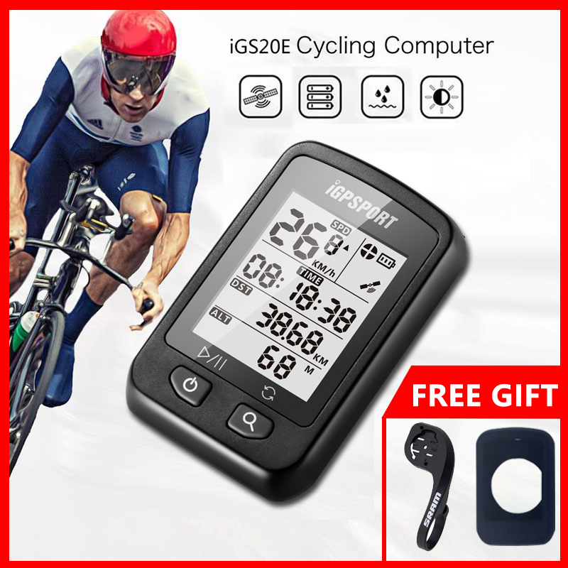 iGPSPORT iGS20E <font><b>GPS</b></font> Cycling <font><b>Computer</b></font> Smart Waterproof IPX6 MTB Road <font><b>Bike</b></font> <font><b>Computer</b></font> Sport Speedometer Mileometer for Cyclist image