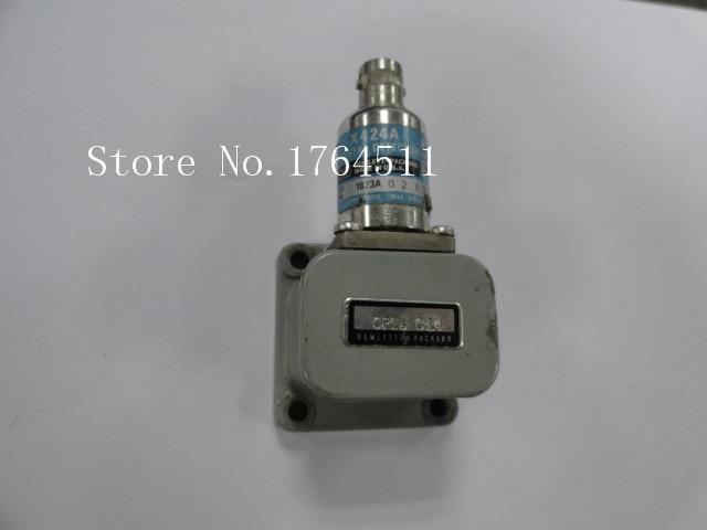 [BELLA] ORIGINAL X424A 8.2-12.4GHz 0.3dB WR90 WG-BNC Waveguide Detector.
