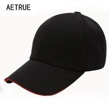 ca284b169c3 AETRUE Baseball Cap Women Snapback Casquette Hats For Men Blank Baseball  Caps Solid