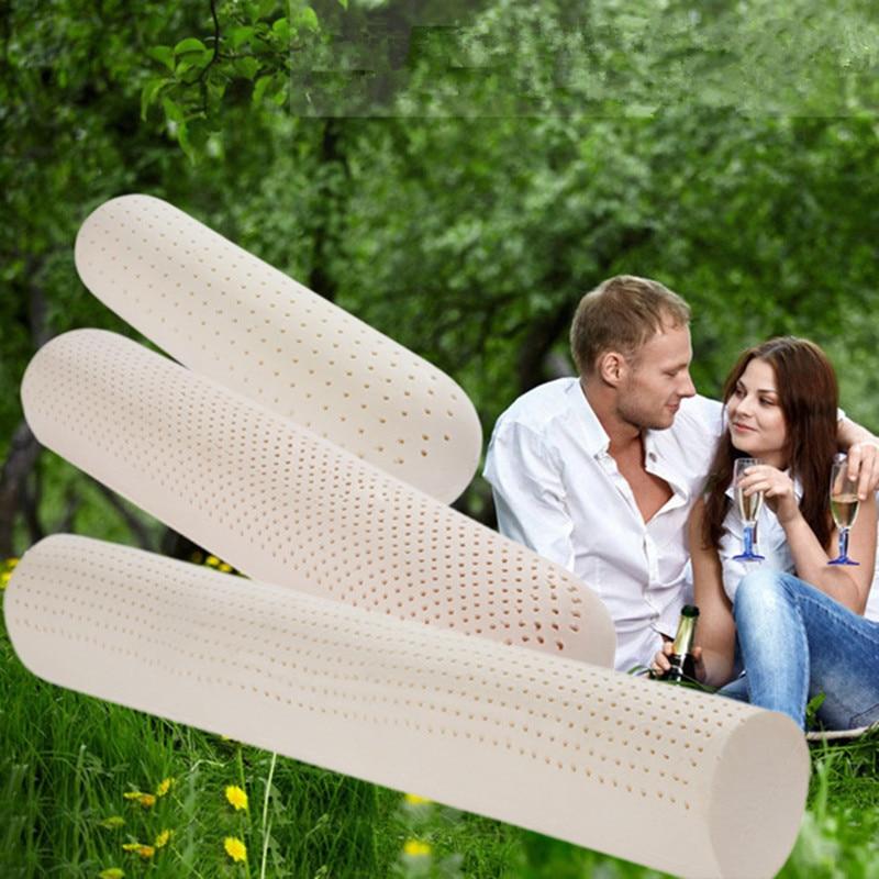 Doğal lateks Büyük Bolster Vücut Yastığı. Premium Kalite - Ev Tekstili