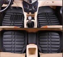 Tapete do assoalho carro tapete tapetes chão acessórios para wv 6 mk6 mk5 passat b3 b5 b5.5 b6 b7 b8 cc