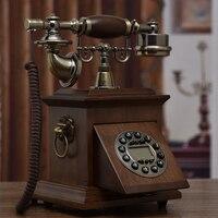 Хорошее Искусство Античная личность семья, чтобы сидеть украшения новая камера телефон украшение дома классический ID с подсветкой телефон