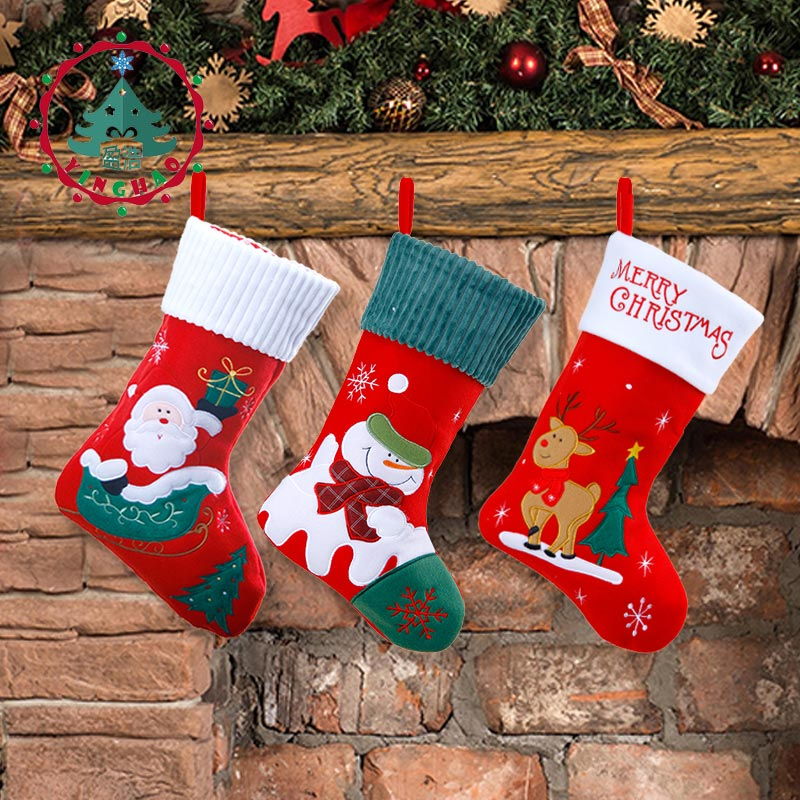 Носок с подарками картинки