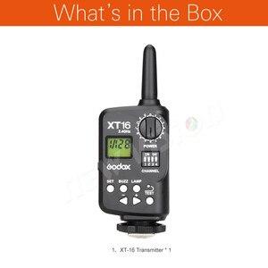 Image 2 - Godox XT 16 무선 2.4G 플래시 송신기 스튜디오 플래시 (송신기 전용)