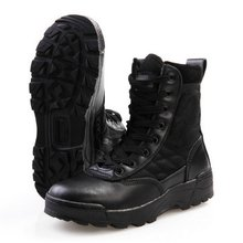 New Army Men's Tactical Desert Boots Outdoor Hiking Camping Military Enthusiasts Marine Male Combat Shoes Fishing Waders