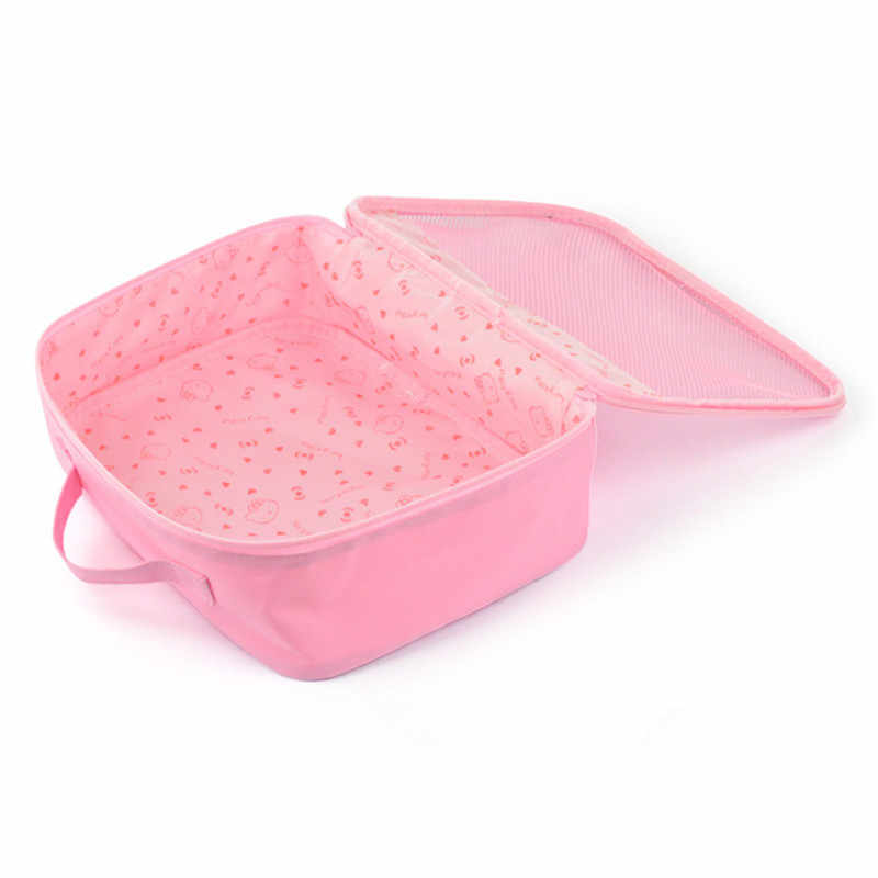 0bc9b9ec3d ... Hello Kitty Toiletry Shower Bag With Hanging Hook Cosmetic Make Up  Organizer Bag With Mesh Pocket ...