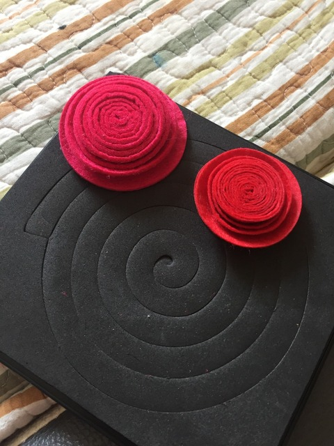 Spiral flower scrapbooking  die cutter fabric felt cutting die 15.8mm thick 5.5*6inch L-3D0013