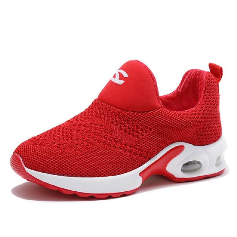 Women Boys Mesh Fabric Casual Shoes Girls Slip-on Breathable Sneakers Toddler Trainer Soft Sole Protect Feet Footwear Aa51145 Suitable For Men And Children