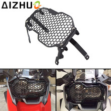 R1200GS Motorcycle Headlight Guard Grill Front Lamp Guard Stainless Steel Head Light Front Light Cover For
