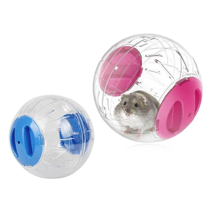 New Plastic Running Ball For Home Pet Transparent Running Ball Plastic Grounder Jogging Hamster Toy Small Pet Supplies