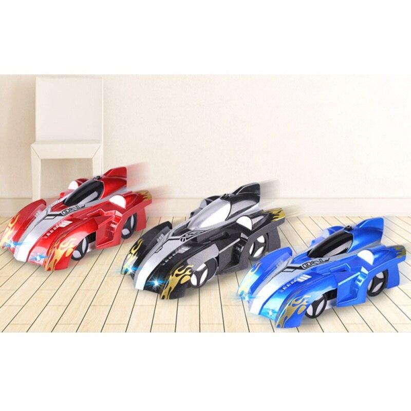 Nuevo RC escalada coche de Control remoto Anti Gravedad de techo coche de carreras juguetes eléctricos automático de la máquina de regalo para los niños RC coche