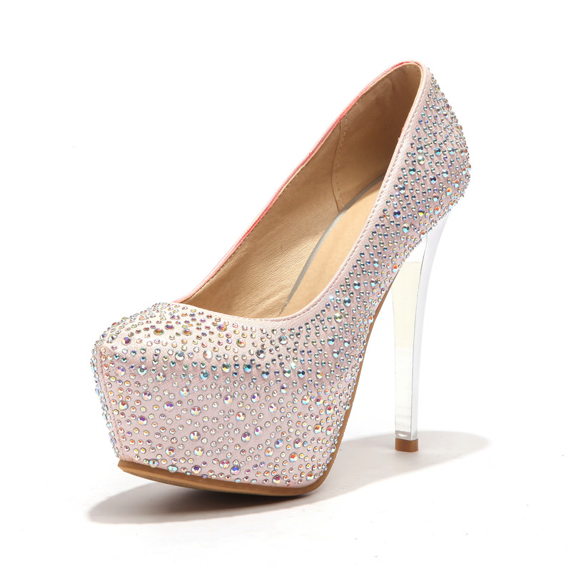 De Chaussures 33 Grande Gold Extreme Talon Femmes Femme silver Mariage Talons 43 red pink Taille Pompes 13 Cm EFww5qRg