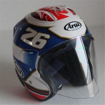 New ARAI New motorcycle helmet racing helmet cross country half helmet men and women sunscreen helmets Free shipping