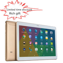 10 pulgadas MTK8752 Octa Core 3G WCDMA smartphone Tablet pc 4G RAM 32G ROM 1280*800 IPS Android 5.1 WIFI bluetooth GPS tabletas + Regalo
