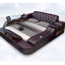 2019 cama de masaje eléctrica moderna Configuración de lujo